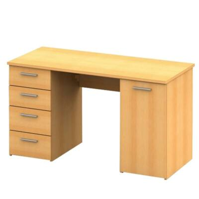 Íróasztal, bükk, EUSTACH