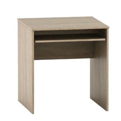 Íróasztal kihúzható billentyűzettartóval, tölgy sonoma, TEMPO ASISTENT NEW 023
