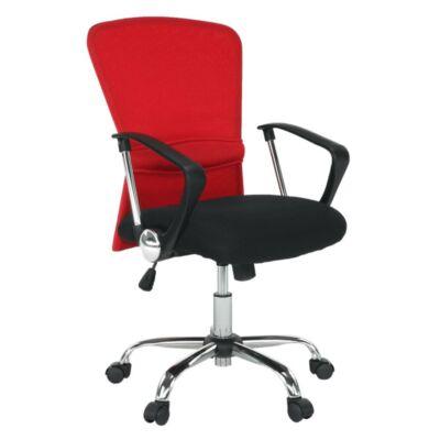 Irodai szék, fekete / piros, AEX
