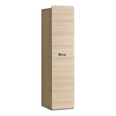 Polcos szekrény, kőrisfa/ibolyakék, EGO L2