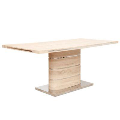 Étkezőasztal, MDF, tölgy sonoma, AMAR