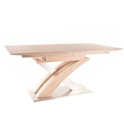 Étkezőasztal, sonoma tölgyfa, BONET