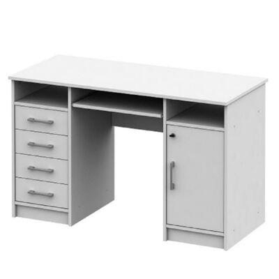 PC asztal, fehér, B9 NEW