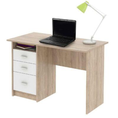Számítógépasztal, sonoma tölgyfa, SAMSON NEW
