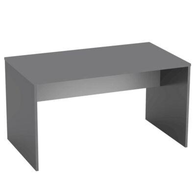 Íróasztal, grafit/fehér, RIOMA NEW TYP 11