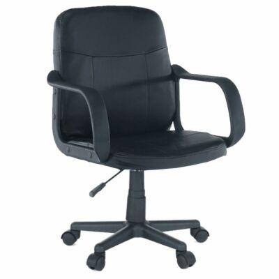 Irodai fotel, fekete, AYLA