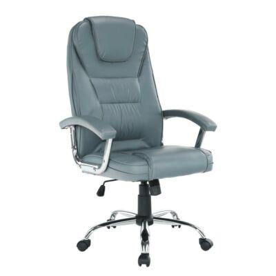 Irodai szék, világosszürke/króm, SAFIN