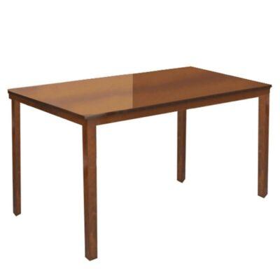 Étkezőasztal, dió, 135 cm, ASTRO NEW