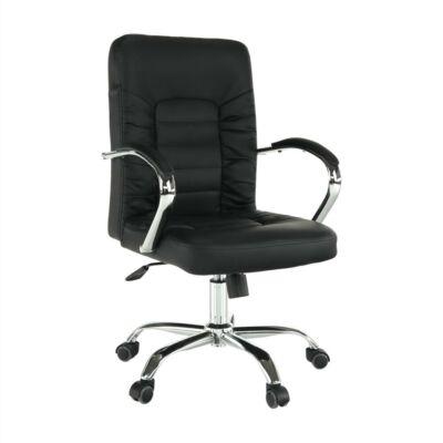 Irodai szék, fekete/króm, ALTAZ