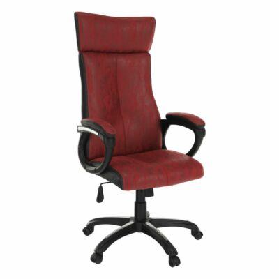 Irodai szék, piros/fekete, MERSIN
