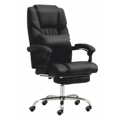 Irodai szék, fekete textilbőr, ARNAUD NEW