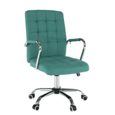 Irodai szék, ciánzöld, MORGEN