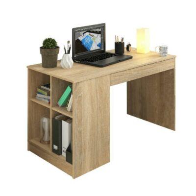 PC asztal, tölgy sonoma, VENDI