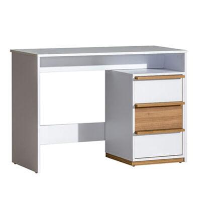 PC asztal, select dió/fehér, KNOX E14