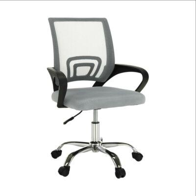 irodai szék,  szürke-barna TAUPE/fekete, DEX 2 NEW