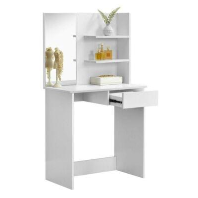 fésülködőasztal, sminkasztal, fehér, BELEZA
