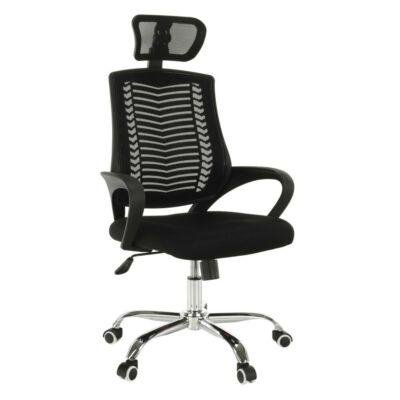 Irodai szék, fekete, IMELA TYP 1