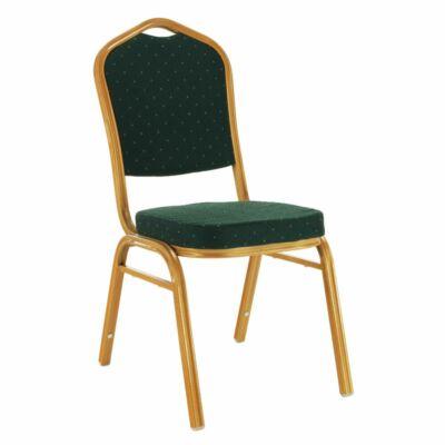 Rákásolható szék,  zöld/zöld festés, ZINA 3 NEW
