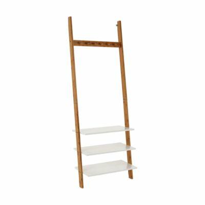 Fogas polcos, fehér/bambusz, MARIKE TYP 2