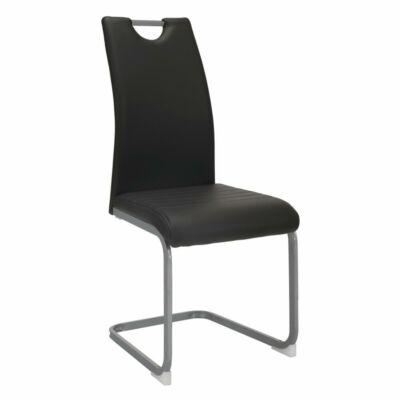 Étkező szék,sötétszürke, DEKOMA