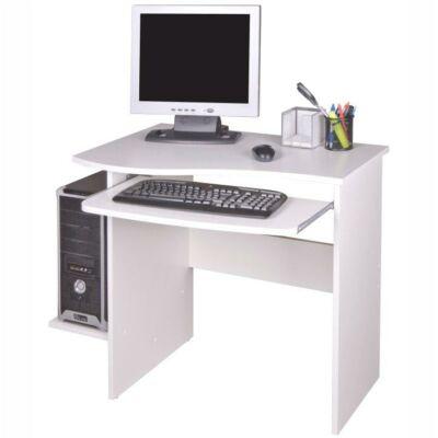 PC asztal, fehér, MELICHAR